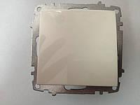 Выключатель одинарный ZENA модуль белый