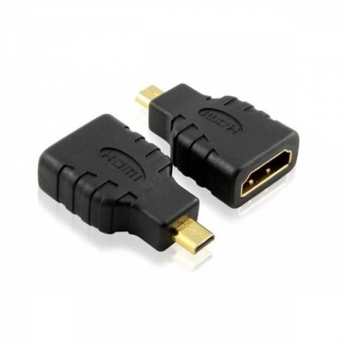 HDMI A мама - Micro HDMI D папа переходник