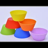 """Набор силиконовых форм для выпечки кексов """"Корзинка"""" (набор 10шт)"""