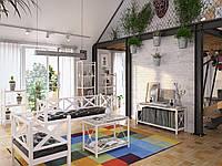 Комплект мебели в стиле Лофт на заказ
