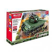 Конструктор iBlock PL-920-169 «АРМИЯ» 473 детали iBlock (PL-920-169) Танк Армата