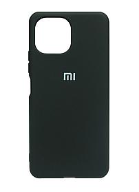 Силикон Xiaomi Mi11 Lite black Silicone Case