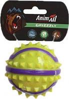 М'яч AnimAll GrizZzly з шипами для собак S 7см