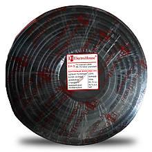 Телевізійний (коаксіальний) кабель RG-6U Cu 0,75 без фольги чорний ПВХ