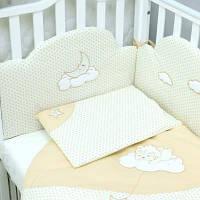 Детский постельный набор Верес Сменный Sleepyhead beige (3 ед.) (153.2.25)
