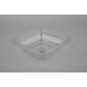 Контейнер квадратный PP 500мл | Прозрачный 160*160*40мм
