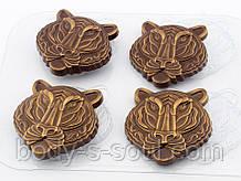 Пластиковая форма для шоколада Маска Мудрость Тигра