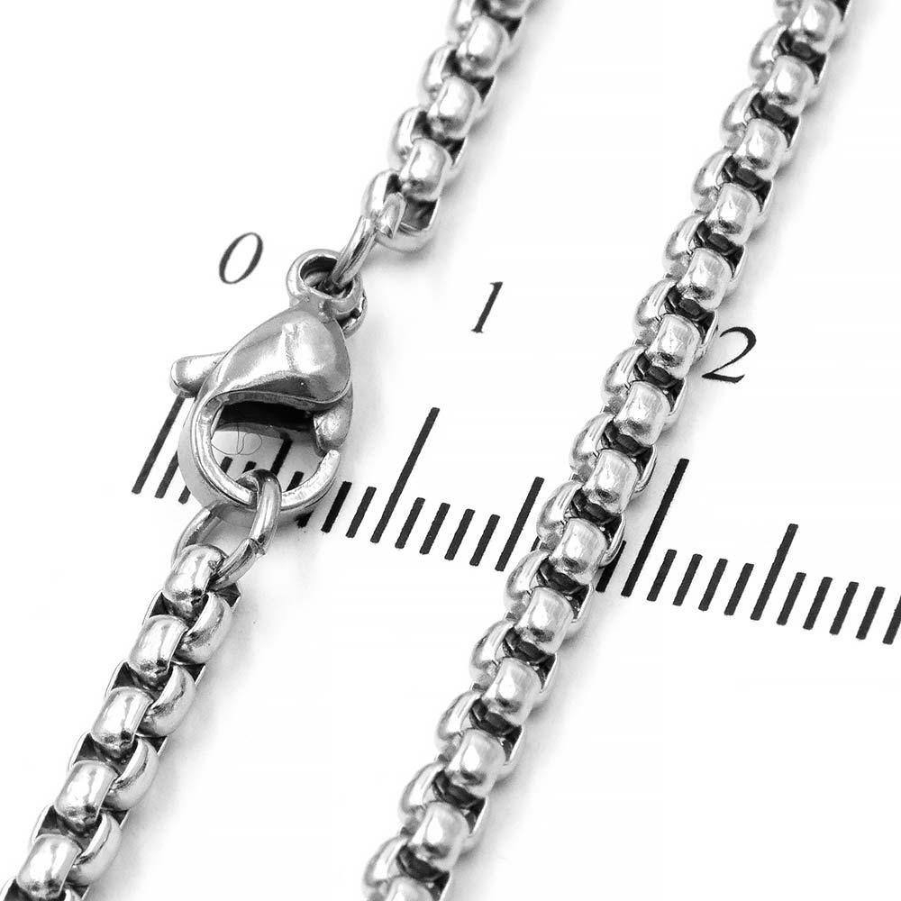 """Цепочка сталь """"венецианское"""" 0,3/70 см"""