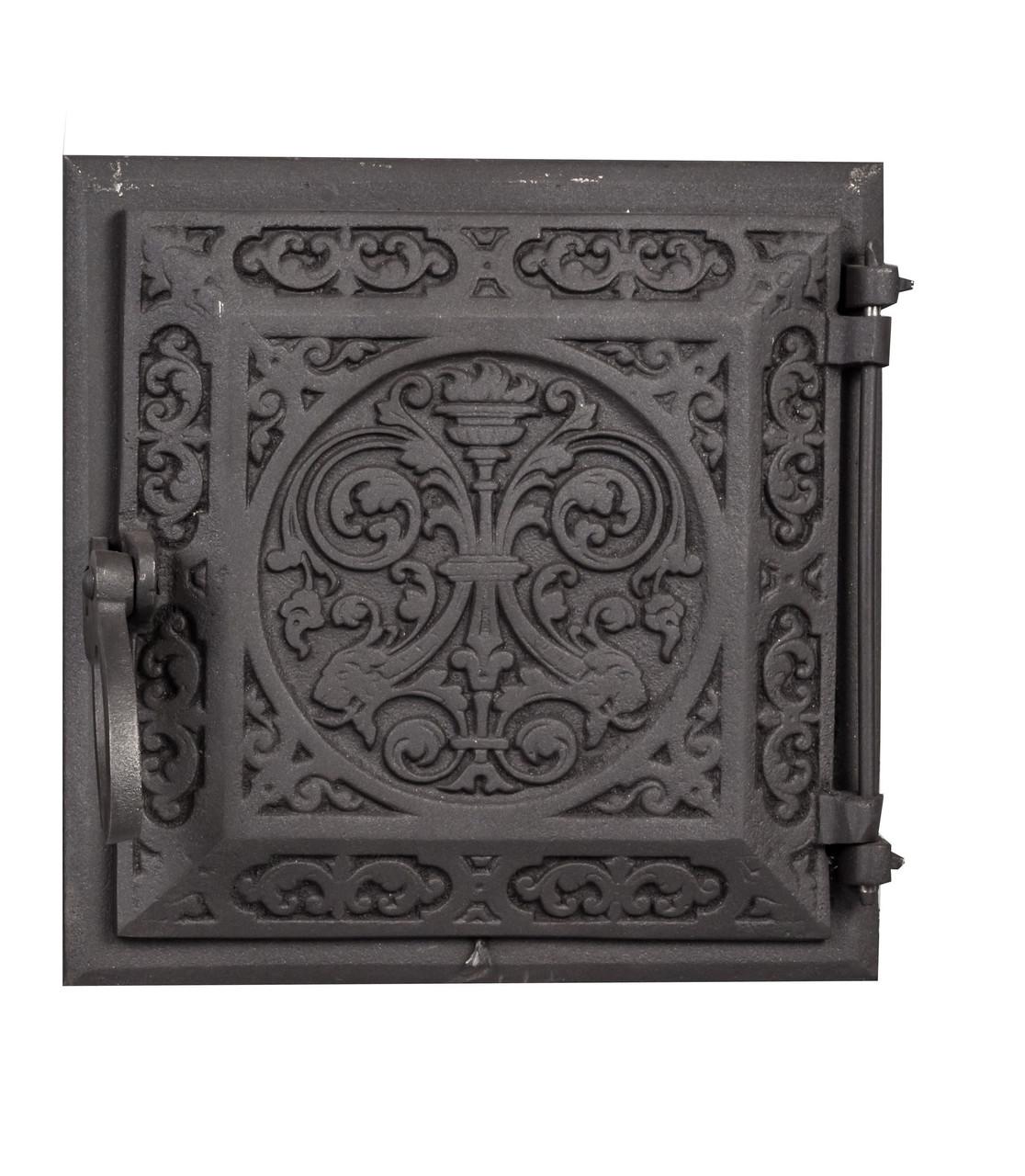 Печная дверка чугунная - Dunántúl 24 х 24 см/22 х 22 см