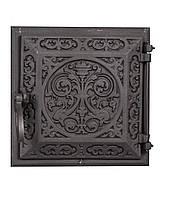 Печная дверка чугунная - Dunántúl 24 х 24 см/22 х 22 см, фото 1