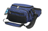 Поясная сумка спиннингиста VA R 97 для рыбалки Синяя с Черным (02R9703)