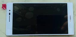 Huawei Ascend P7 дисплей в зборі з тачскріном модуль білий