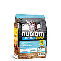 I12NUTRAM Ideal Solution Support Weight Control Cat Корм для взрослых котов с курицей 1.13 кг