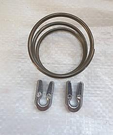 Ремкомплект головки мотокоса 2 алюминеевых ушка+ пружина ○49мм  L-32