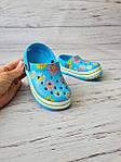 Детские кроксы/сабо/пляжная обувь для детей Luckline 18-19р, 11.5см
