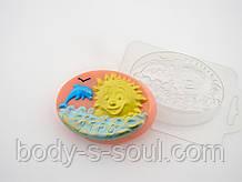 Пластиковая форма для мыла Утро