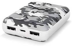 Универсальная мобильная батарея Ttec 10000mAh ReCharger White Camouflage (2BB156BK)