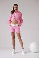 Шорти для вагітних 1430 1526 рожеві, фото 1