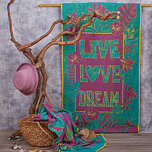 Рушник махровий ТМ Речицький текстиль, Aloha 81х160 см