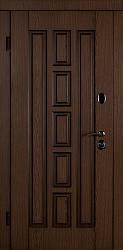 Входная дверь Квадро-В 880 патина дуб - дуб