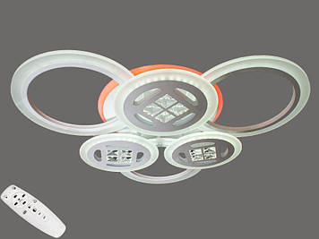Люстра потолочная светодиодная  с диммером 115W Белый
