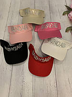 """Козирок-кепка жіночий, сонцезахисний р-ри 56-59см (мікс цв) """"SCARLETT"""" купити недорого від прямого постачальника"""