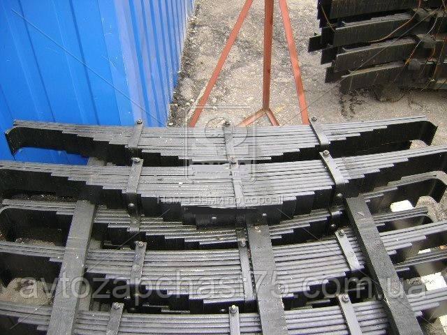 Рессора Камаз задняя 12 листовая (производитель Чуссовский металлургический завод, Россия)