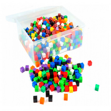 "Счетный материал ""Кубики 1 см, 1 гр"" (1000 шт) EDX Education"
