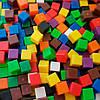 """Лічильний матеріал """"Кубики 1 см, 1 гр"""" (1000 шт) EDX Education, фото 3"""