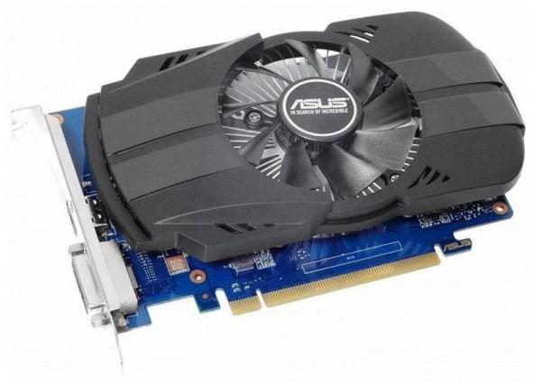 Відеокарта Asus GeForce GT 1030 Phoenix OC  2GB GDDR5 (64-bit) (1252/6008) (DVI, HDMI) (PH-GT1030-O2G)  (код