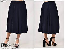 Летняя женская юбка большого размера 52\54\56\58\60\62\64\66\68\70