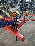 Грабли солнышко на минитрактор 4 колеса (колесо Ø1200мм, спица Ø6мм), фото 2