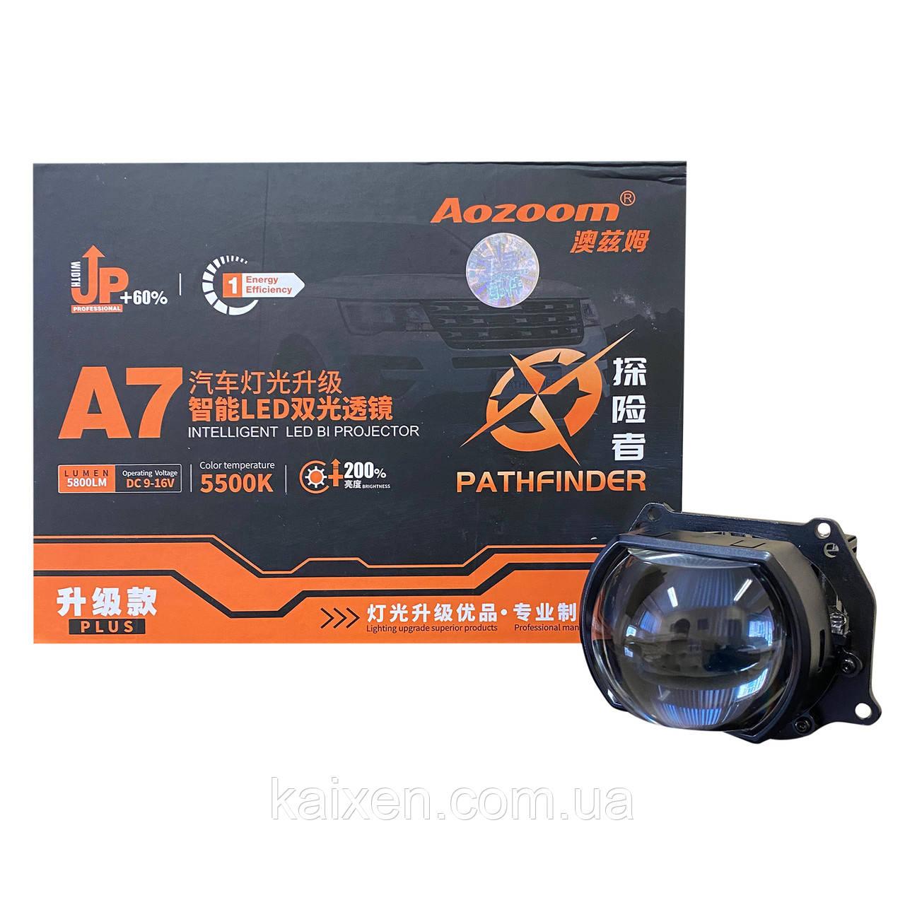 Bi-led линзы Aozoom A7Pro 3 дюйма (прямоугольная линза)