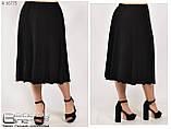 Летняя женская юбка большого размера 52\54\56\58\60\62\64\66\68\70, фото 3