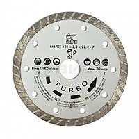 "Алмазний диск по бетону, каменю ,""TURBO"", 150 мм 22-809 SPITCE // Алмазный диск по бетону, камню ""TURBO"""