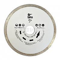 Алмазний диск для керам. і мармурових плит, 180 мм 22-812 SPITCE // Алмазный диск для керамических и мраморных плит