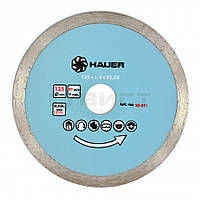 Алмазний диск для кераміки, 230 мм 22-853 Hauer // Алмазный диск для керамики