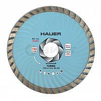 """Алмазний диск посиленний """"TURBO"""" 180 мм 22-872 Hauer // Алмазный диск усиленный """"TURBO"""""""