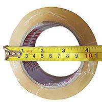Скотч упаковочный, 500м*45мм, прозрачный