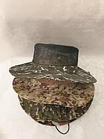 Капелюх доросла чоловіча камуфляжна з сіткою розмір 58 см, кольору міксом