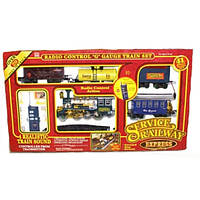 Железная дорога р/у, паровоз, звук, свет, дым, в коробке + код MMT-2031(J)
