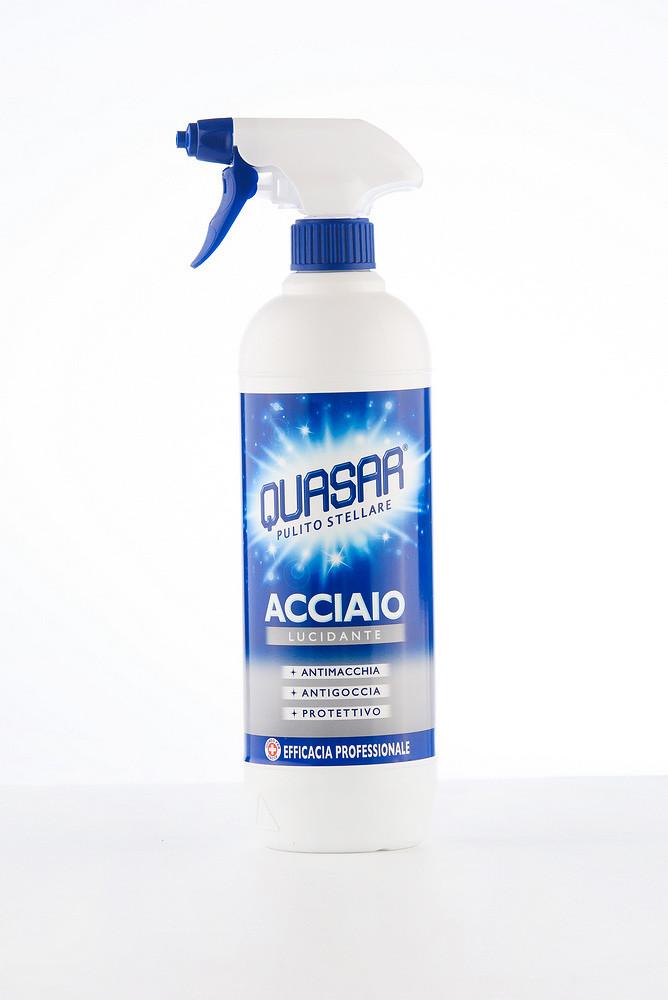 Quasar ACCIAIO Професійний засіб по догляду за металевими поверхнями