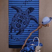 Рушник махровий ТМ Речицький текстиль, Нікуди поспішати 81х160 см