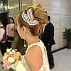 Гребінь весільний в стразах ФЛАЙ весільні прикраси для волосся, фото 2