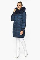 Сапфировая куртка стильная женская модель 42150, фото 3