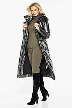 Женская куртка с карманами цвет темное серебро модель 42830, фото 2