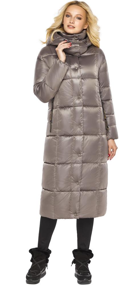 Куртка на молнии женская цвет кварцевый модель 42830