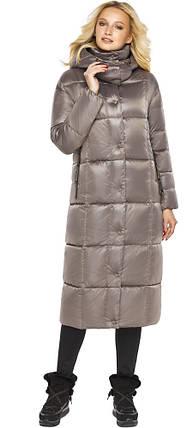 Жіноча Куртка на блискавці колір кварцовий модель 42830, фото 2