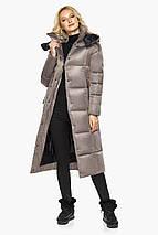 Куртка на молнии женская цвет кварцевый модель 42830, фото 3