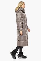 Жіноча Куртка на блискавці колір кварцовий модель 42830, фото 3